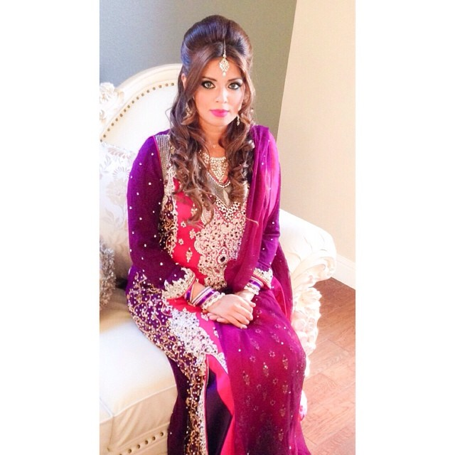 Desi bridal party look