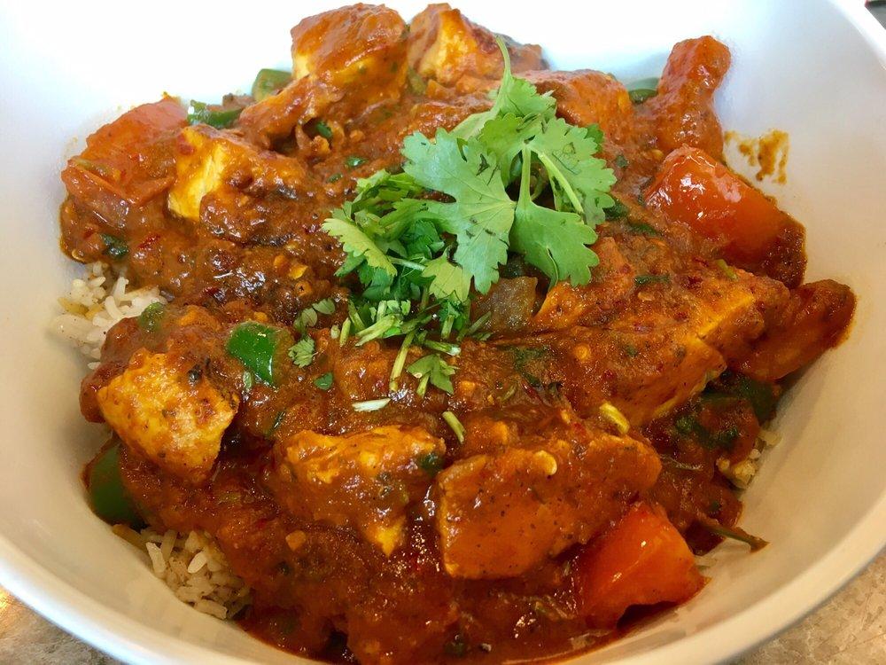 spicy chicken bowl